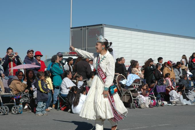 Miss Northern Navajo Tanya Lister 2009-2010