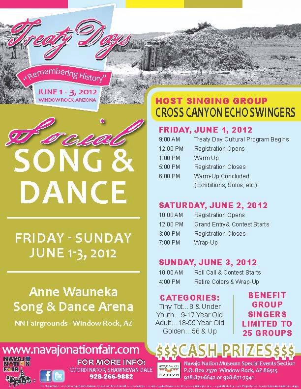 Treaty  Days Social Song and Dance