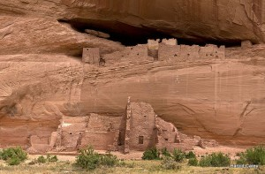 Canyon de Chelly White House Ruins - Photo by Harold Carey Jr.