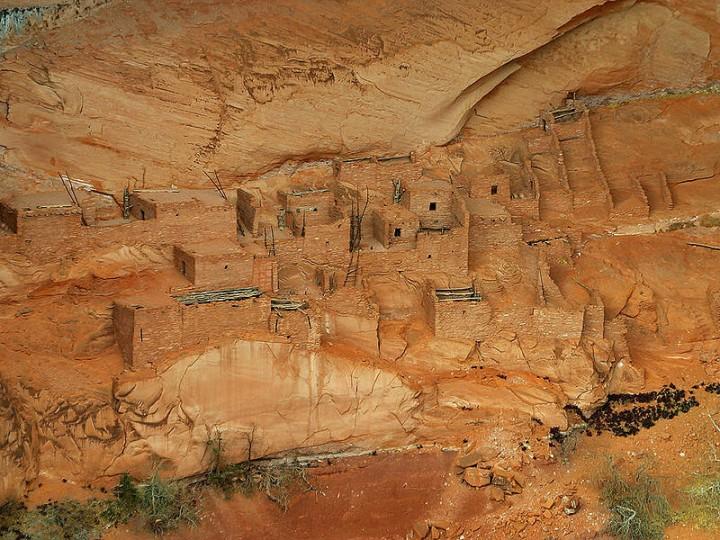 Betatakin Cliff Dwelling Ruins -2