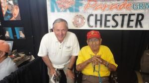 Nez Navajo Code Talker & Harold Carey