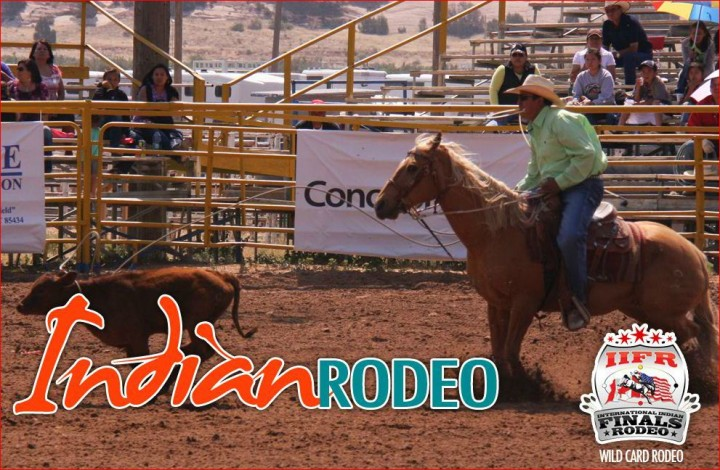 Open Indian Rodeo - Navajo Nation Fair 2012