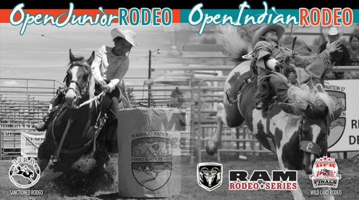 Open Junior Rodeo Navajo Nation Fair