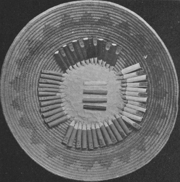 Kethawn arranged in ceremonial basket