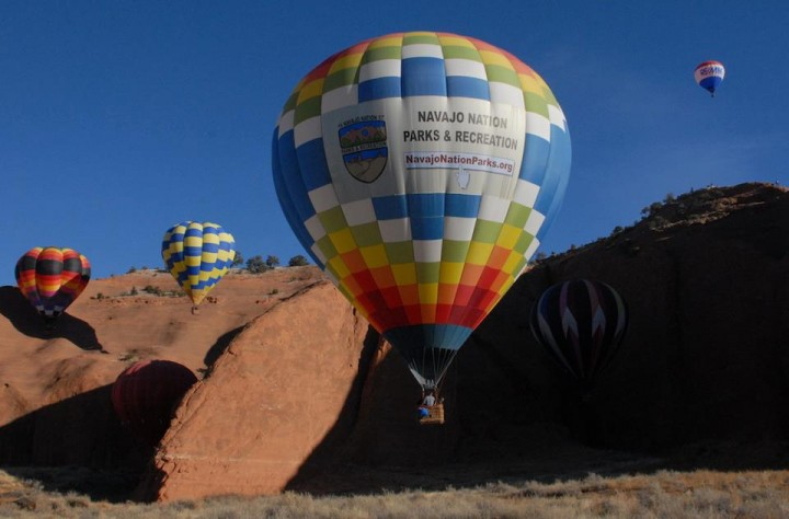 Monument Valley Hot Air Balloon Event Navajo Shoe Game