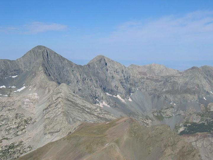 Mount Blanca (Sisnaajini) - Dawn or White Shell Mountain
