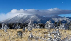 San Francisco Peaks - Navajo Sacred Mountain
