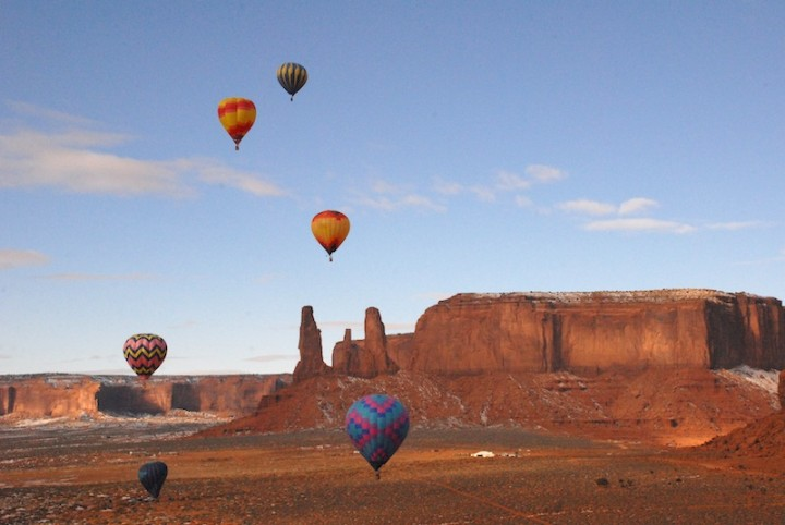 Balloon Event at Monument Valley