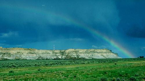 Huerfano Mesa -Navajo Sacred Mountain