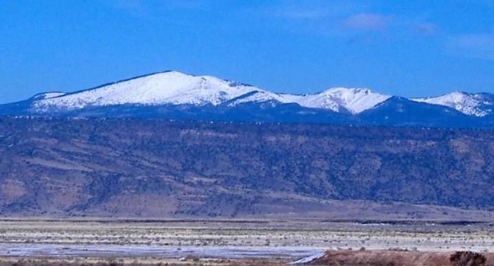 Mount Taylor (Tsoozil) Navajo Sacred Mountain