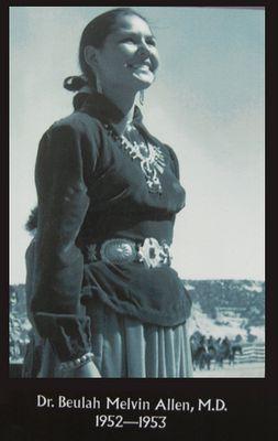 Miss Navajo 1952-DrBeulahMelvinAllenMD