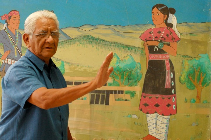 Dr. WIlson Aronilth Jr. Navajo Teacher 2