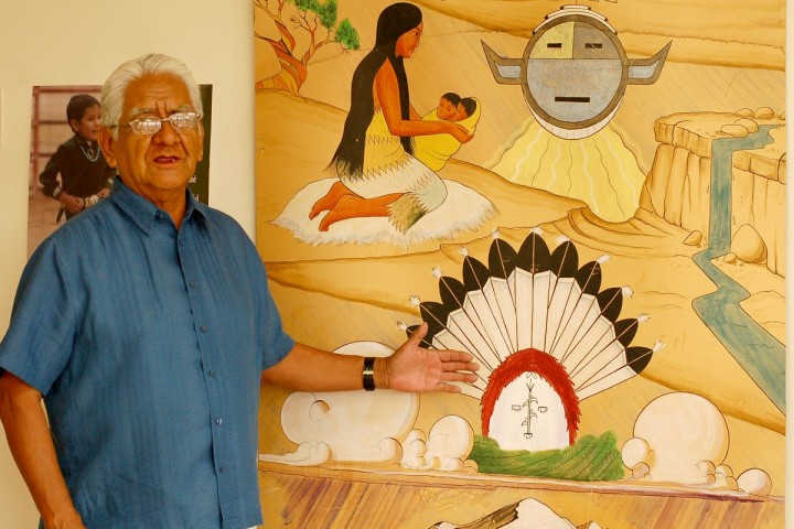 Dr. WIlson Aronilth Jr. Navajo Teacher