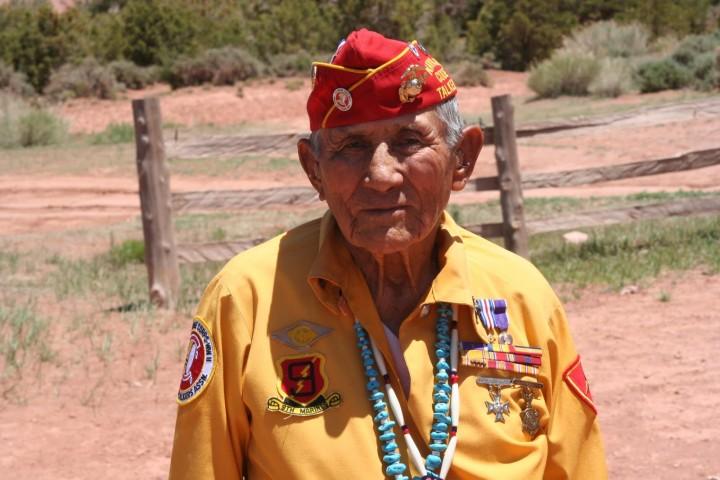 John Kinsel - Navajo Code Talker-05-20-10