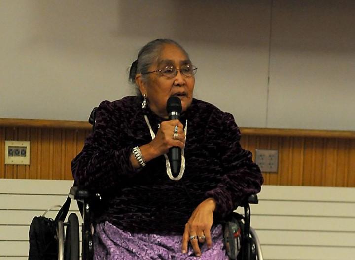 Mitzie Begay, Navajo Oral History
