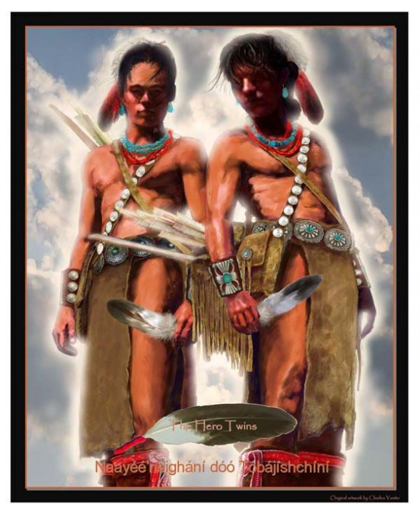 Navajo Hero Twins Poster