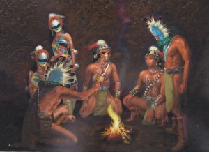 The Holy Beings Teach the Navajo Hero Twins
