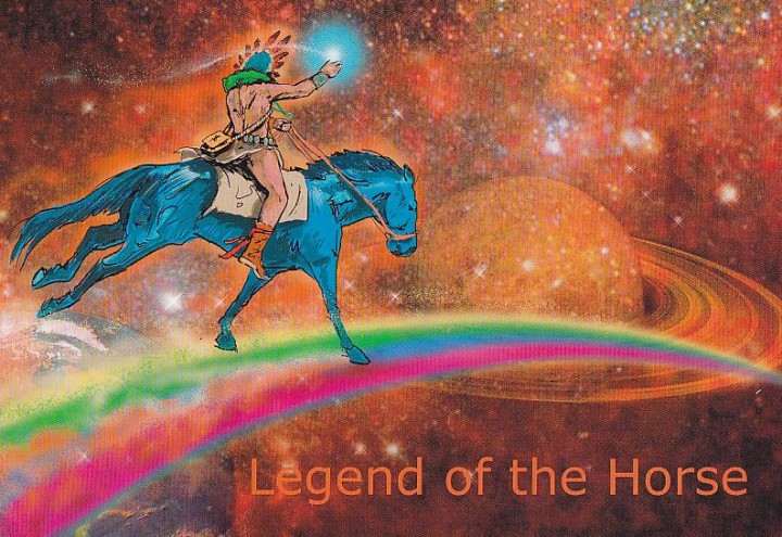 The Legend of the Horse Cover