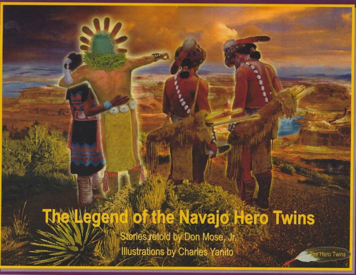 gend of the Navajo Hero Twins cover