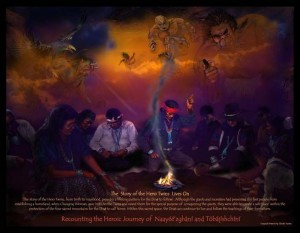 christian and navajo creation The navajo creation story is one of the most beautiful religious theories concerning the creation of the earth and the beginning of the tribe.