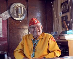 Keith Little, Navajo Code Talker,1925- 2012