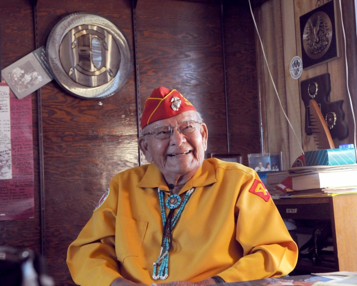 Keith Little, Navajo Code Talker,1925- 2012