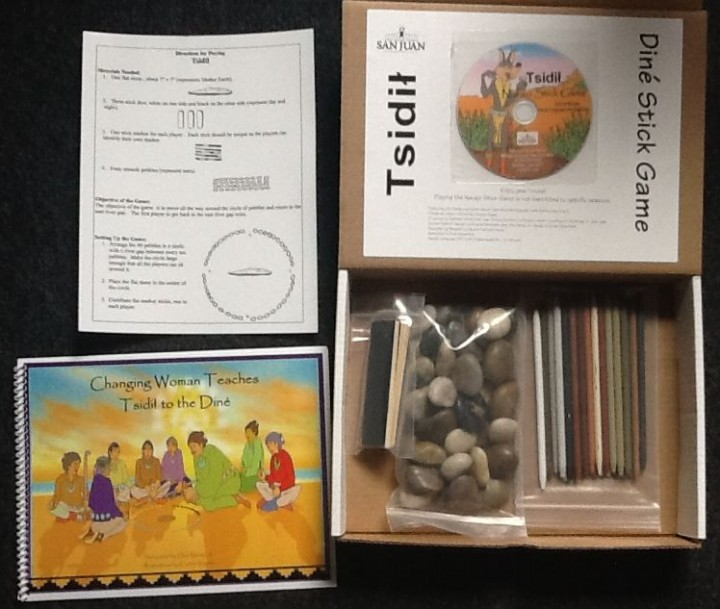 Tsidil - Navajo Stick Game