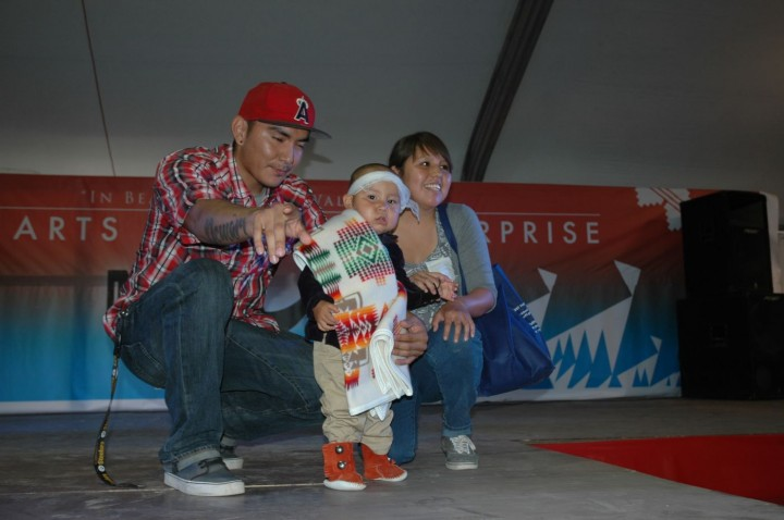 13 to 24 months Male Winner Demari Yazzie