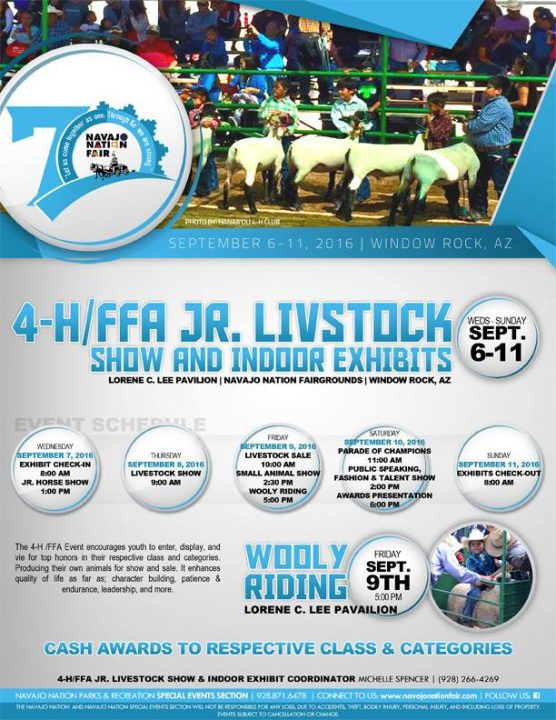 4-H:FFA Jr. Livestock Show & Exhibits