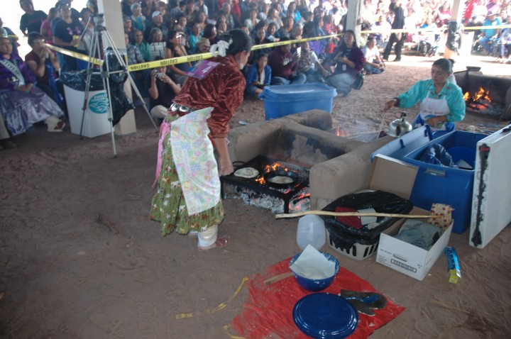 Miss Navajo Nation Pageant Fry Bread Competition 2012
