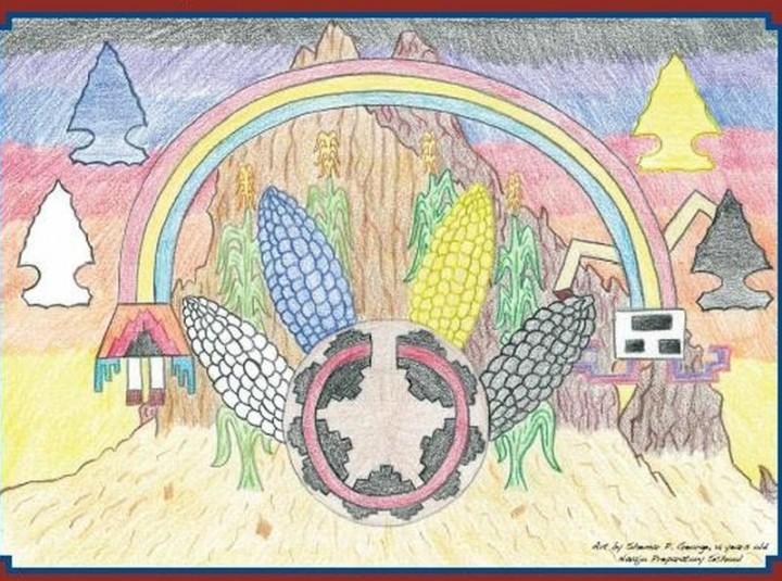 Northern Navajo Nation Fair Poster Contest Winner