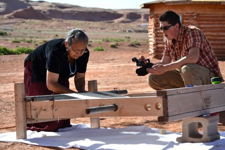 Nita Nez - Navajo Rug Weaver - Living History