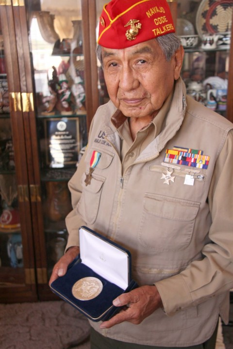 Peter MacDonald Code Talker