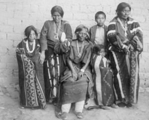 Maneulito family at Bosque Redondo,Fort Sumner