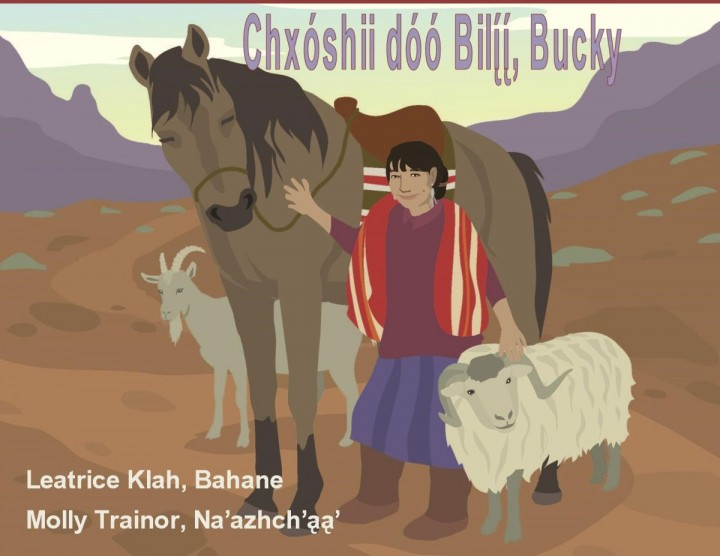Chxóshii and Her Horse, Bucky