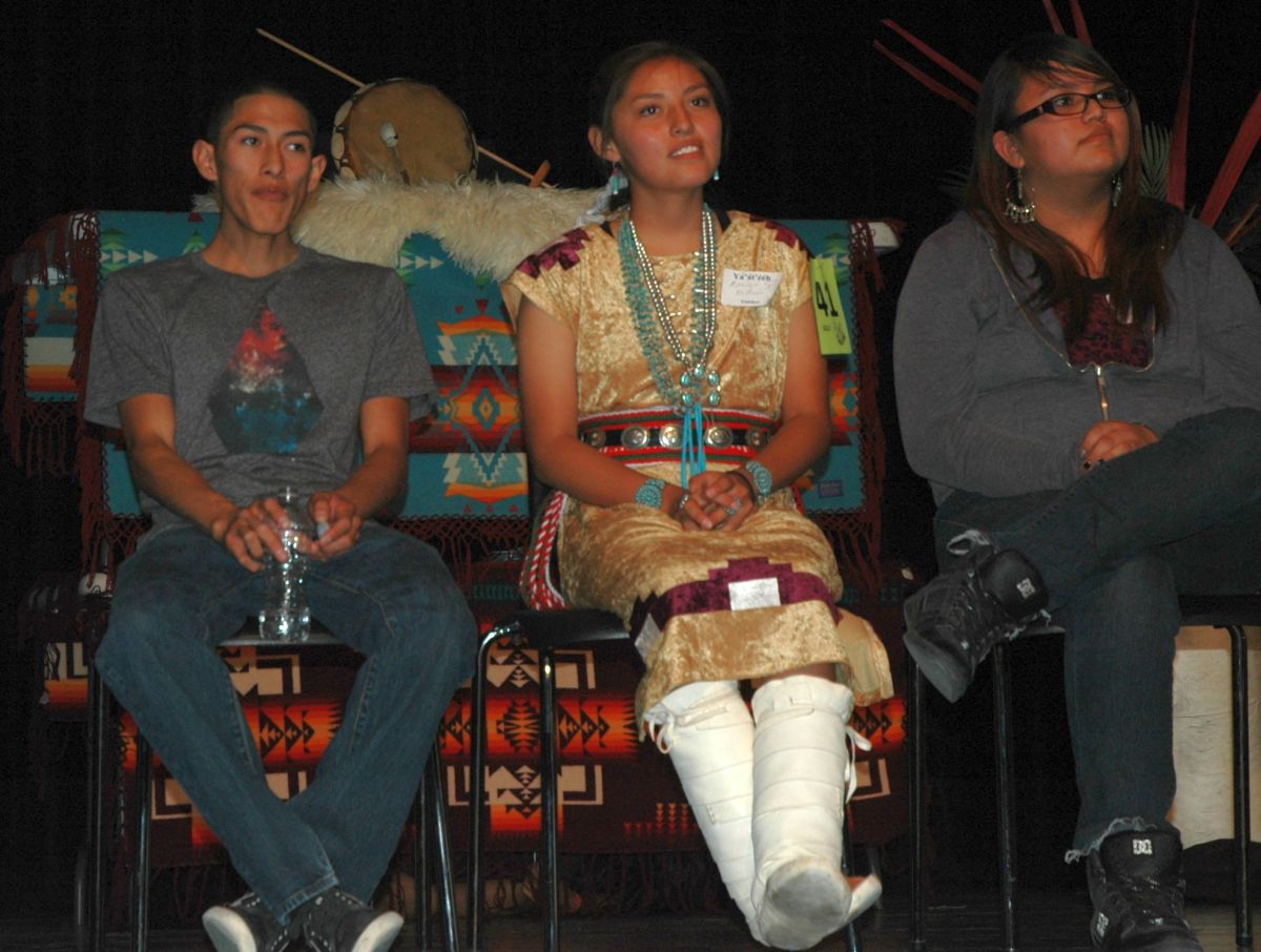 Navajo Knowledge Bowl Spelling Bee Winners