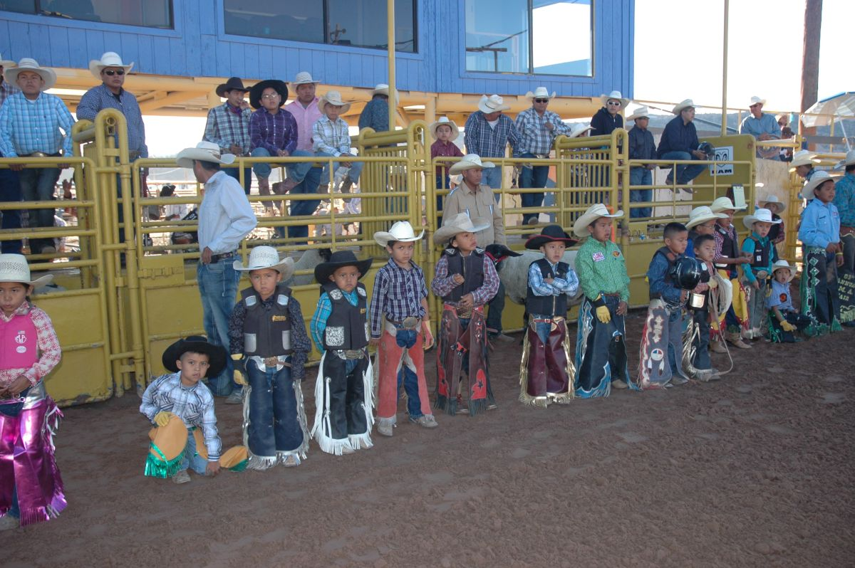 Open Jr Rodeo Contestants