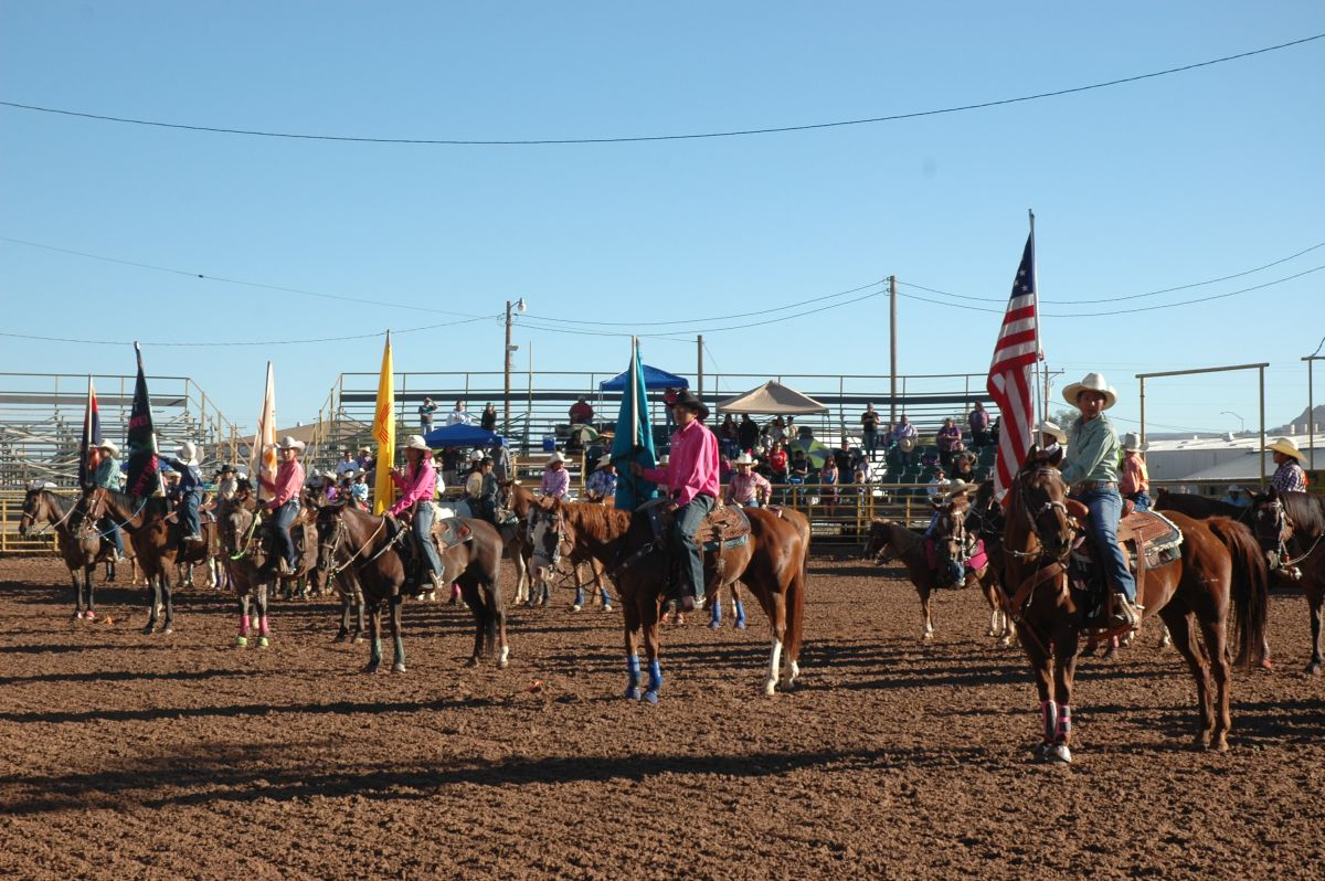 Open Jr Rodeo Grand Entry-1
