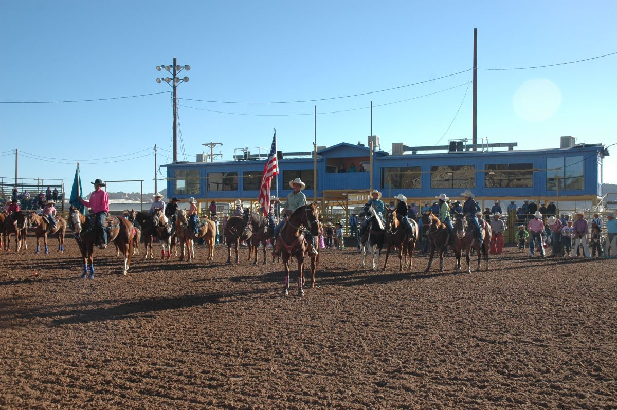 Open Jr Rodeo Grand Entry-2