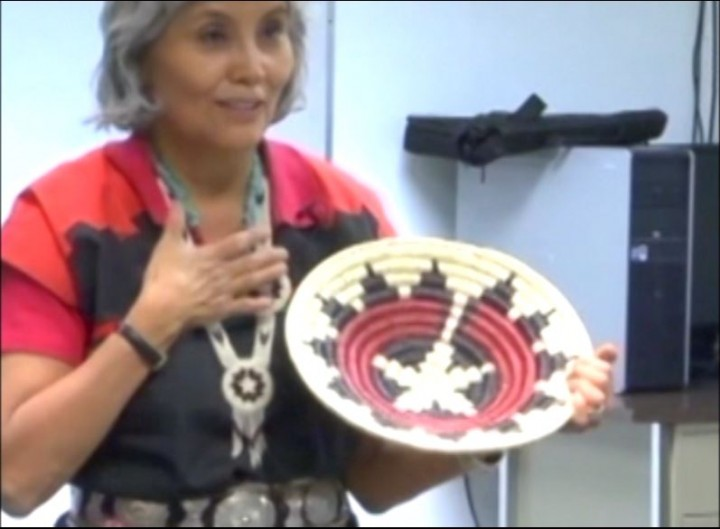Navajo Basket Weaving