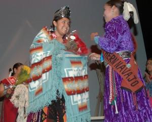 Megan Badonie - Miss Northern Navajo 2013