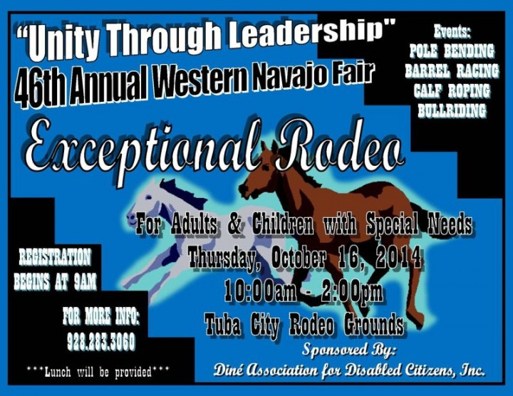 Exceptional Rodeo - Western Navajo Fair