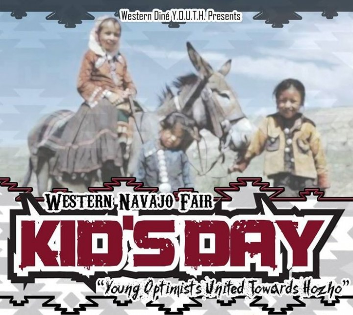 Kid's Day  Western Navajo Fair