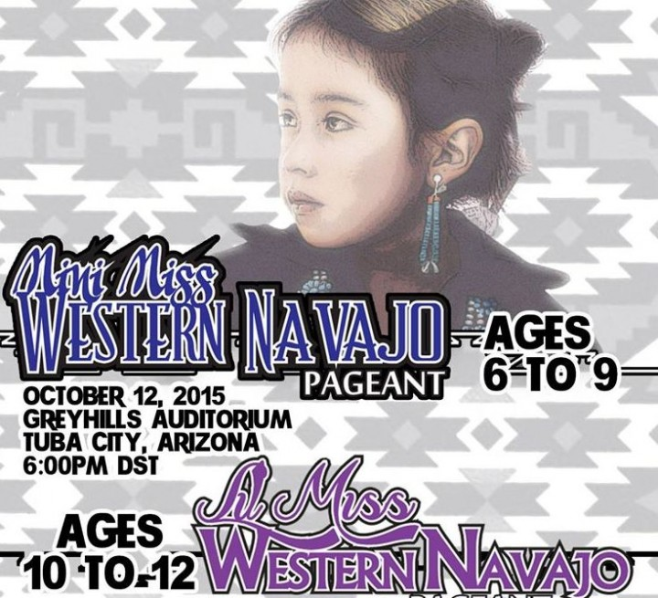 Mini Miss Western Navajo Pageant