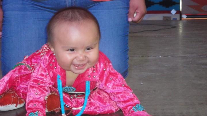 Baby Contest Western Navajo Fair
