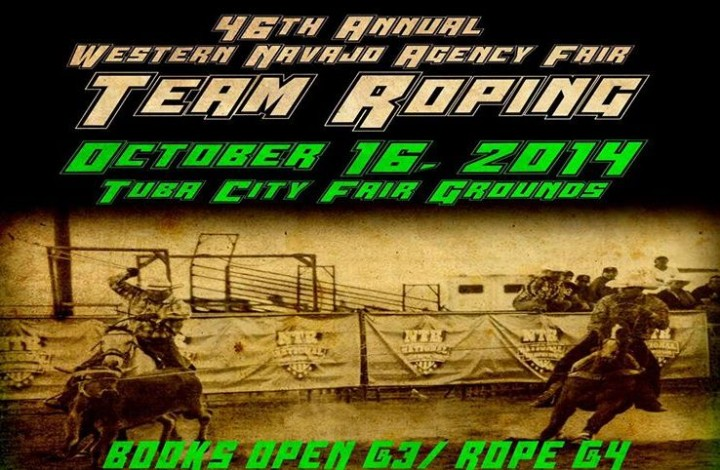 Team Roping - Western Navajo Fair