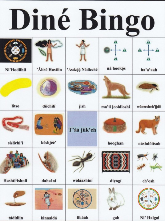 Dine Bingo History Card