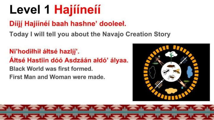 Lesson 5 Haíínèí - Navajo Creation Story