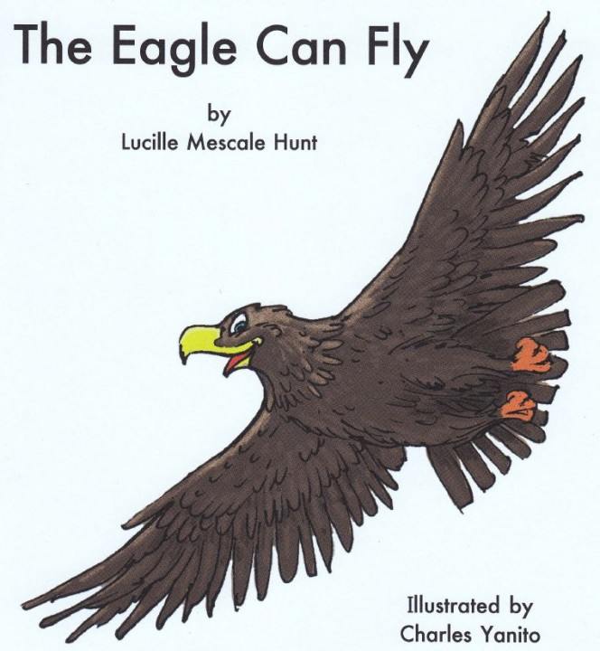 The Eagle Can Fly - Atsa Dahdiit'a' Book Cover