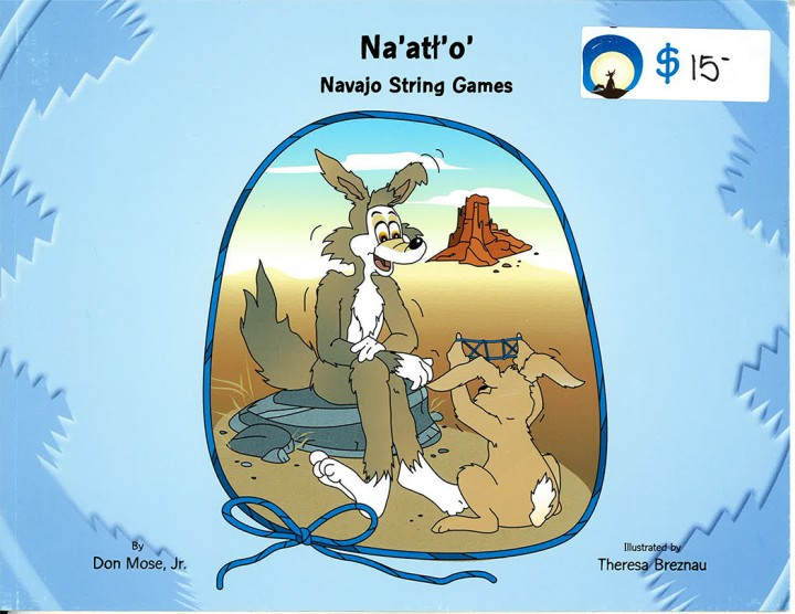 Navajo String Games book and DVD